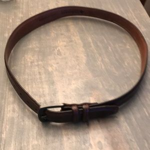 Men's Genuine Leather Columbia Belt